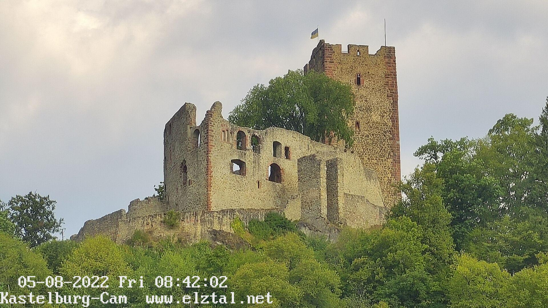 Webcam zur Kastelburg (368 m)